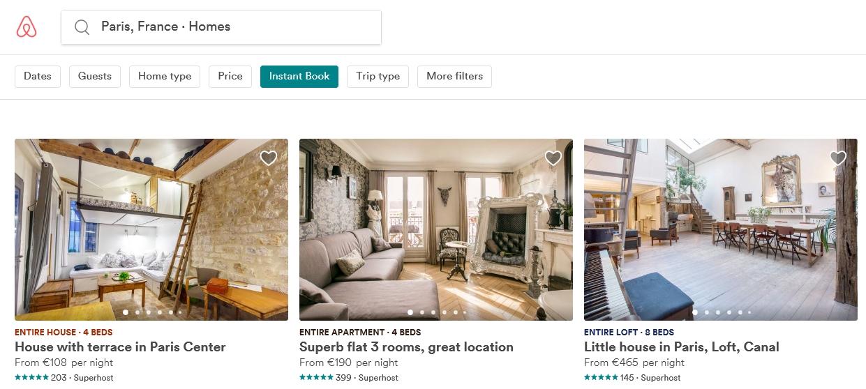 Airbnb – чудова альтернатива дорогим готелям в Парижі, проте не все так просто